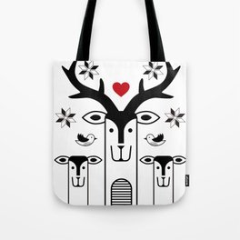 "Deardeer ""Heart"" Tote Bag"