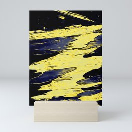 Night Sea Mini Art Print