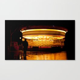 The world spins madly on Canvas Print