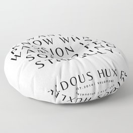7   Aldous Huxley Quotes 200905 The Author Of Brave New World Literature Literary Writing Writer Floor Pillow