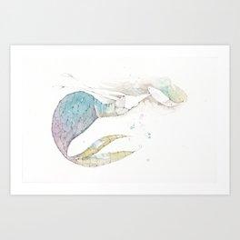 mermie no. 1 Art Print