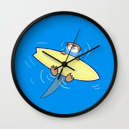Ottersurfer Wall Clock