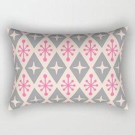 Mid Century Modern Atomic Triangle Pattern 115 Rectangular Pillow
