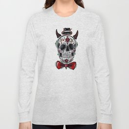 Mr. Dia de los Muertos Long Sleeve T-shirt