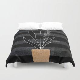 Scandi Plant 2 Duvet Cover