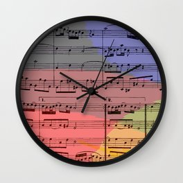 Rainbow Air Wall Clock