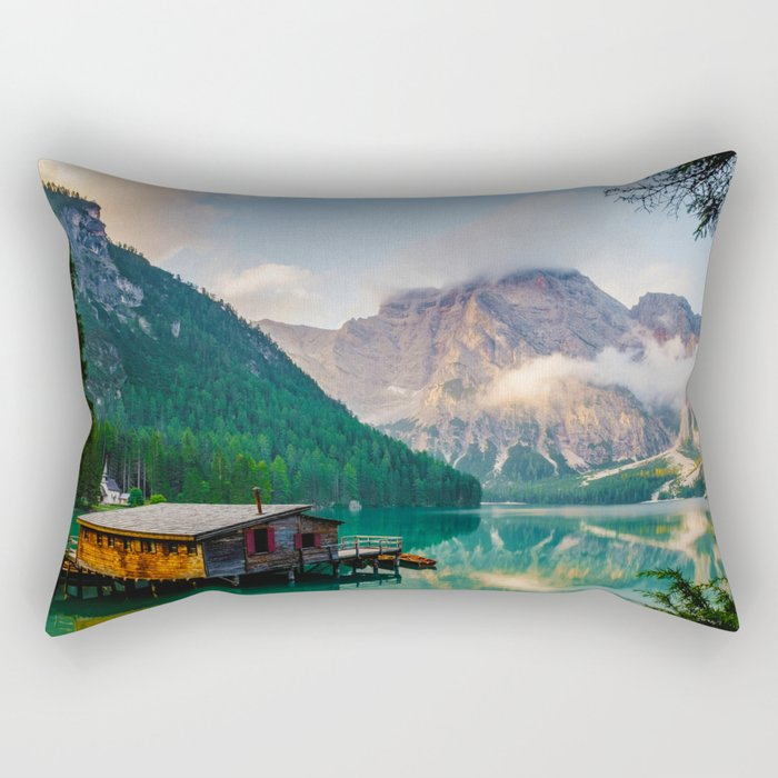 The Place To Be III Rectangular Pillow