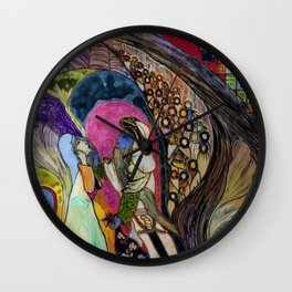 The 40th robber (of Ali Baba) Wall Clock