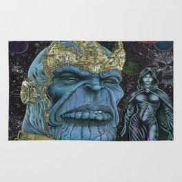 Thanos of Titan Rug