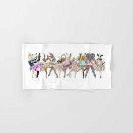 Animal Ballet Hipsters LV Hand & Bath Towel