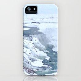 Gullfoss Waterfall in Iceland iPhone Case