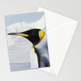 Portrait of a King Penguin Stationery Cards