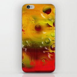 Experiment In Oils 01 iPhone Skin