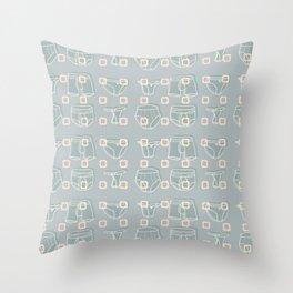 Underwear Grey Color Throw Pillow