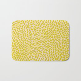 NO QUIETUDE YELLOW Bath Mat