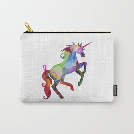 Watercolor Unicorn Carry-All Pouch