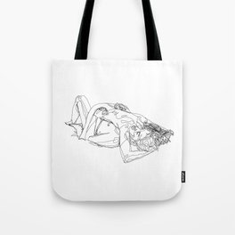 Let's stay like this Tote Bag