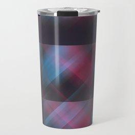 Laser Plaid Travel Mug