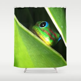 Eyes in the Grass Shower Curtain