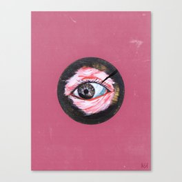 Real Eyes Realize Real Lies Canvas Print