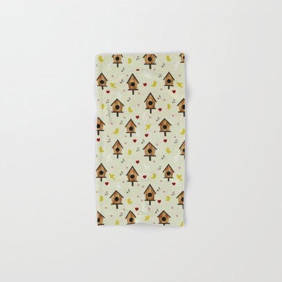 Birdhouses Hand & Bath Towel