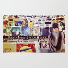 Record Store Rug