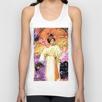 angels Tank Tops featuring Angels by Saundra Myles