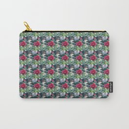 A Walk Among the Tiny Roses Extra Small Carry-All Pouch