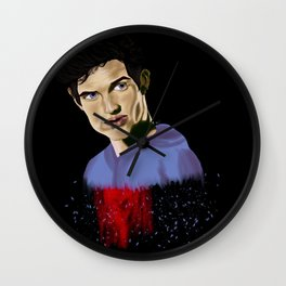 Shattered Wall Clock