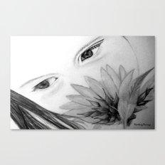 Beautiful Girl Canvas Print