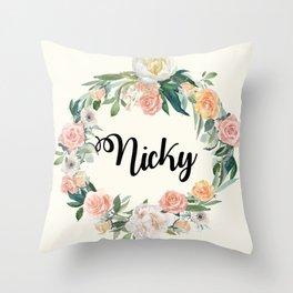 Custom Pillow 3 Throw Pillow