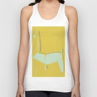 woodland Tank Tops featuring Woodland by Michelle Soto