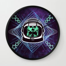 Lonely Traveller  Wall Clock