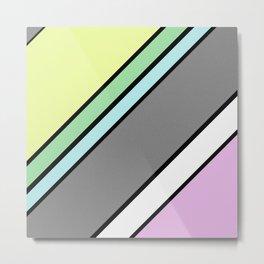 Urban Geometric 2 - Colour At 45 degrees Metal Print