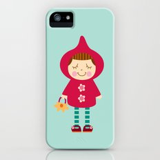 Little red riding hood iPhone (5, 5s) Slim Case