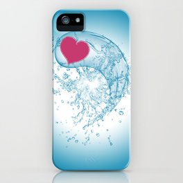 Love Your Water iPhone Case