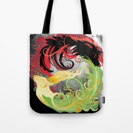 The Wolf and the Halla Tote Bag