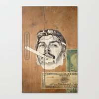che Canvas Prints featuring Che by Jason Ratliff