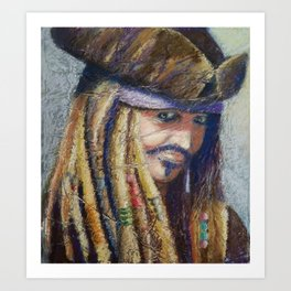 Ole Seadog Art Print