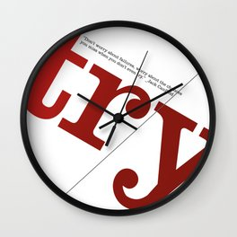 Try. Don't worry about failures Wall Clock