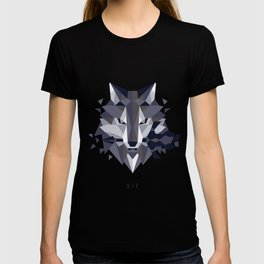 Sif the Great Grey Wolf (without bg) T-shirt