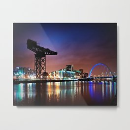 The Clyde Arc Metal Print
