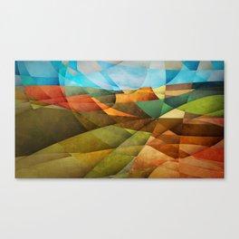 Schnebly Hill, Sedona Canvas Print