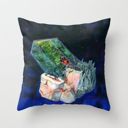 Crystal Generation Ship Throw Pillow