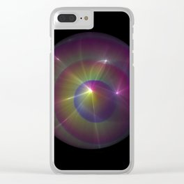 Light of a Different World Clear iPhone Case