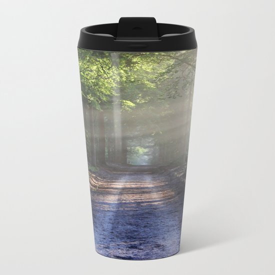 All roads lead to adventure Metal Travel Mug