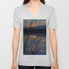 Concept Water reflection Unisex V-Neck