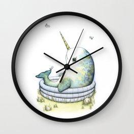 Lazy Summer Day Wall Clock