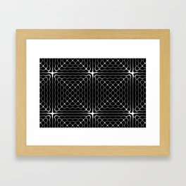 Energy Vibration 1.  Frequency - Chladni - Cymatics Framed Art Print
