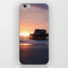 Newport Pier Sunset iPhone Skin